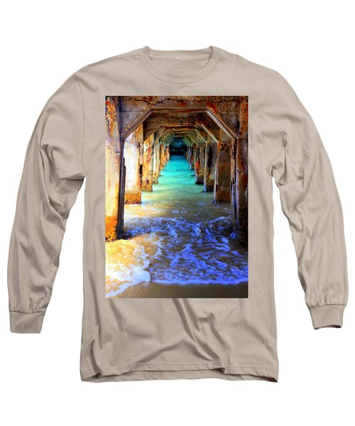 Tranquility Long Sleeve T-Shirt by Karen Wiles
