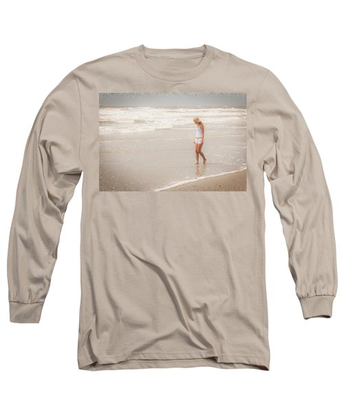 Long Sleeve T-Shirt featuring the photograph Tranquility by Sennie Pierson