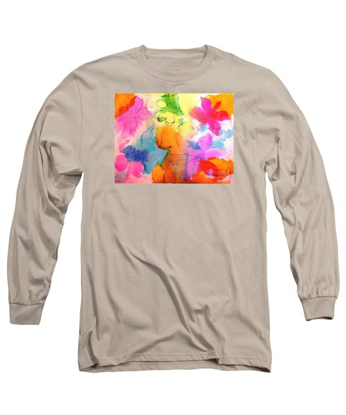 Long Sleeve T-Shirt featuring the painting Transformed Into His Image by Hazel Holland