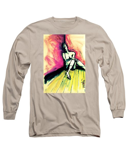 Transparent Long Sleeve T-Shirt by Helen Syron