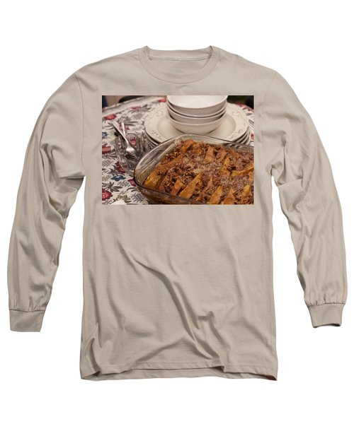 Tray Of Baked French Toast Long Sleeve T-Shirt