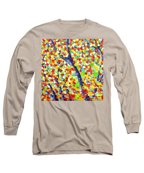 Tree At Fall Long Sleeve T-Shirt