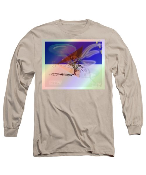 Tree Cut Long Sleeve T-Shirt