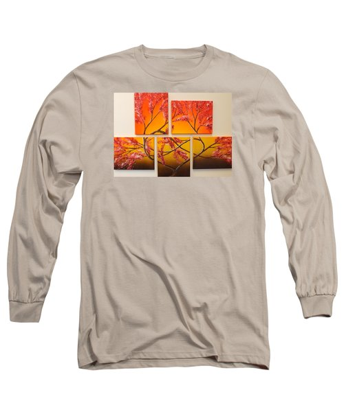 Tree Of Infinite Love Long Sleeve T-Shirt by Darren Robinson