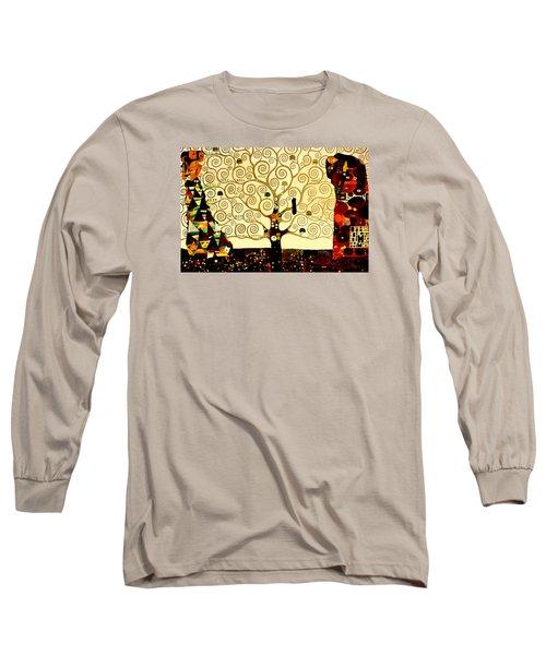 Tree Of Life Long Sleeve T-Shirt by Henryk Gorecki