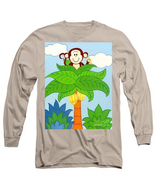 Tree Top Monkey Long Sleeve T-Shirt