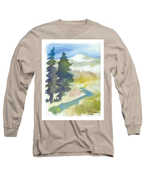 Trees Long Sleeve T-Shirt by C Sitton