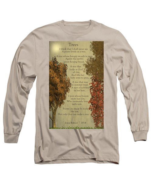 Trees Long Sleeve T-Shirt by David Dehner