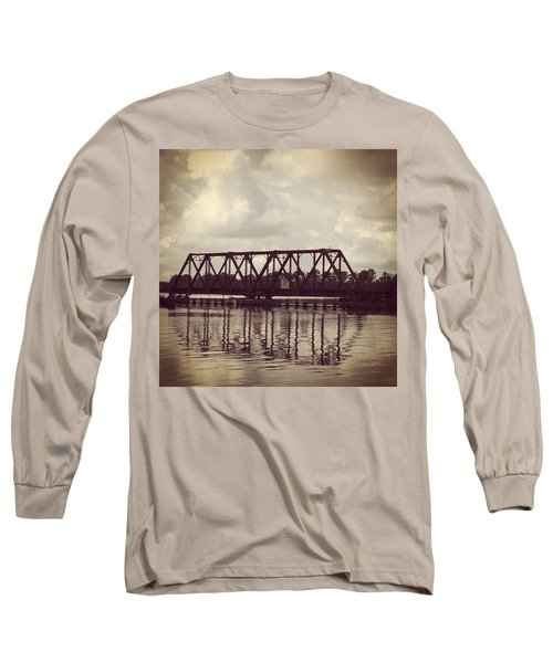 Trestle On The Pamlico River Long Sleeve T-Shirt