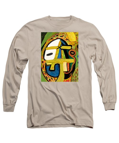 Tribal Mood Long Sleeve T-Shirt by Stephen Lucas