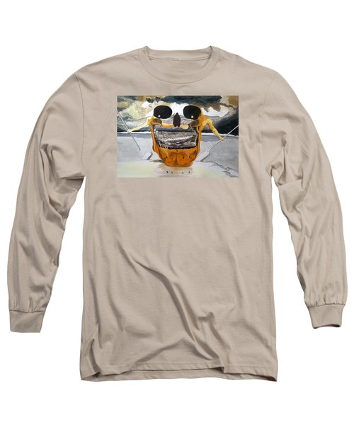 Tribulation Long Sleeve T-Shirt by Lazaro Hurtado