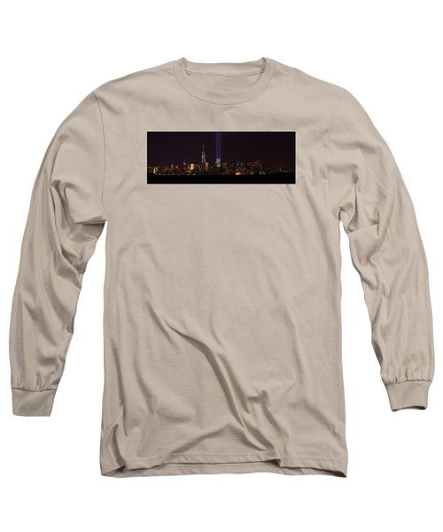 Tribute In Light 9.11 Long Sleeve T-Shirt