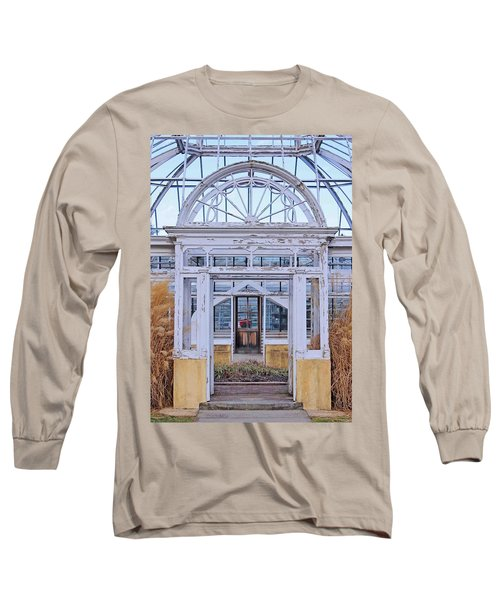Triple Doorways Long Sleeve T-Shirt