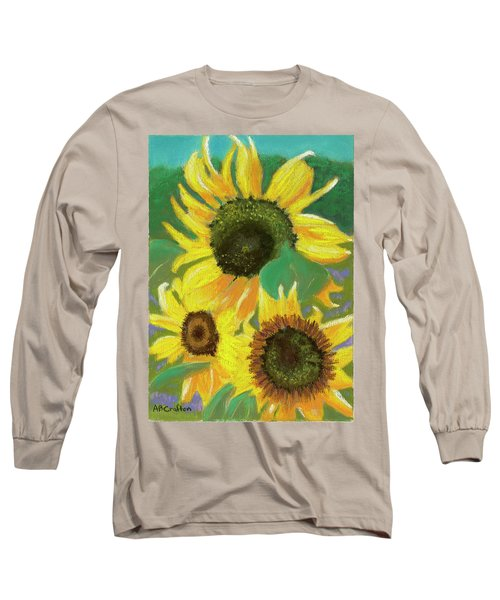 Triple Gold Long Sleeve T-Shirt