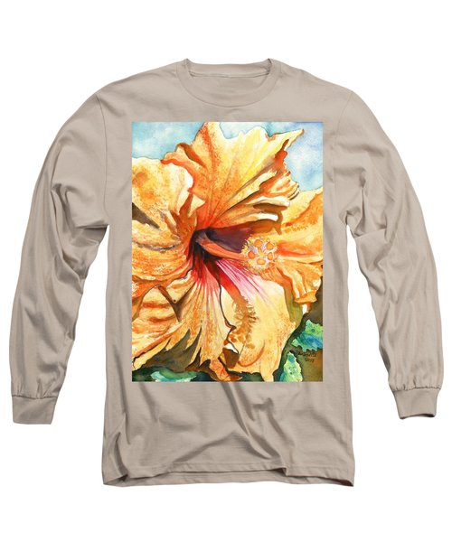 Tropical Hibiscus 3 Long Sleeve T-Shirt