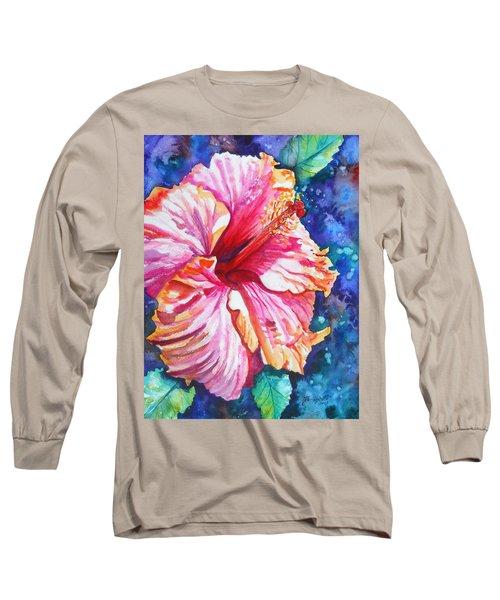 Tropical Hibiscus 4 Long Sleeve T-Shirt