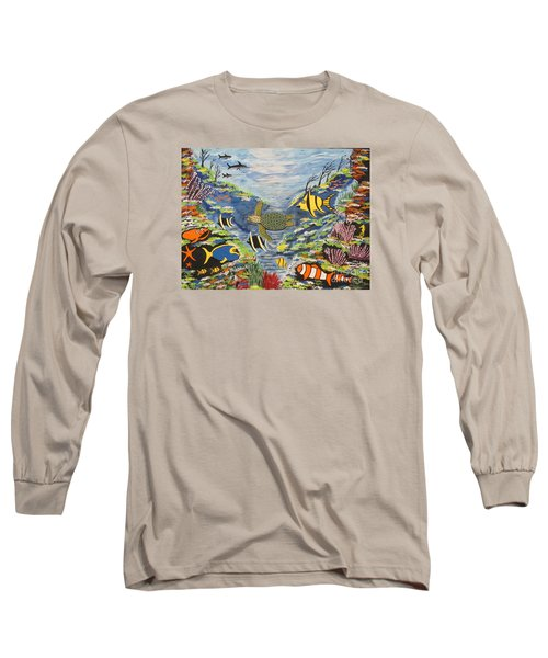 Tropical Paradise Long Sleeve T-Shirt by Jeffrey Koss