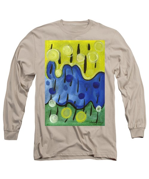 Tropical Rain Long Sleeve T-Shirt by Stephen Lucas