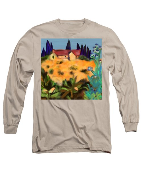 Tropical View Long Sleeve T-Shirt