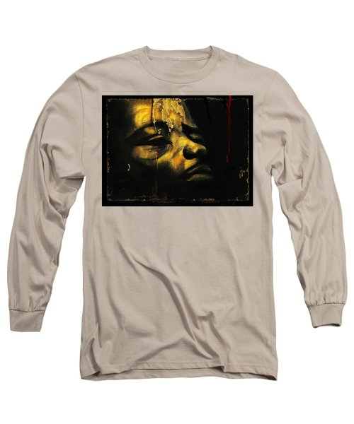 Troubled  Africa Long Sleeve T-Shirt