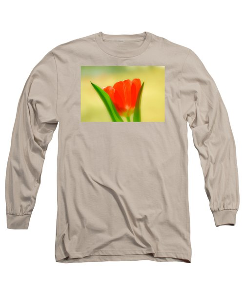 Tulip  Long Sleeve T-Shirt by Menachem Ganon