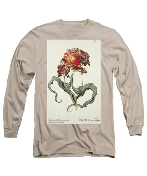 Tulipa Monstrosa Rubra Maior Long Sleeve T-Shirt