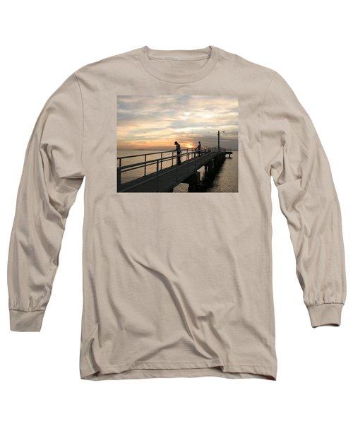 Twilight Fishing Long Sleeve T-Shirt