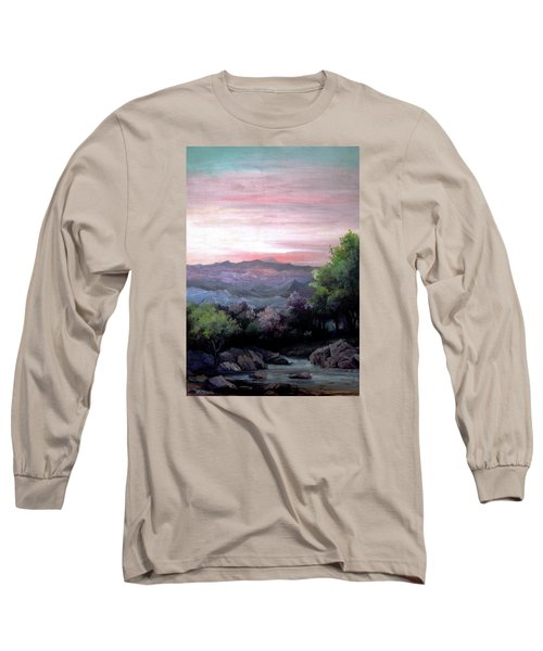 Twilight Long Sleeve T-Shirt by Mikhail Savchenko