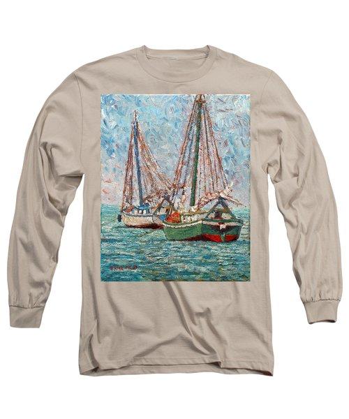Twin Boats Long Sleeve T-Shirt