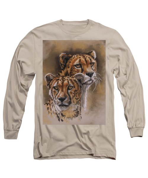 Twins Long Sleeve T-Shirt by Barbara Keith