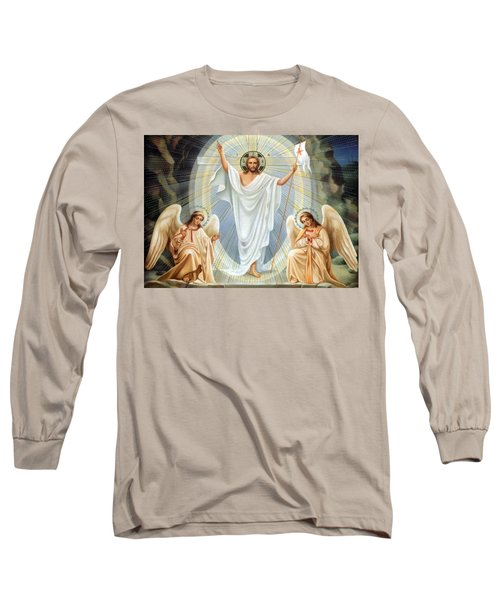 Two Angels Long Sleeve T-Shirt