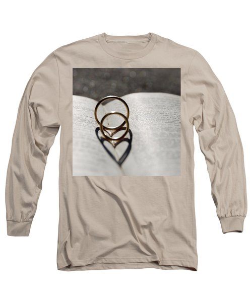 Two Hearts As One Long Sleeve T-Shirt