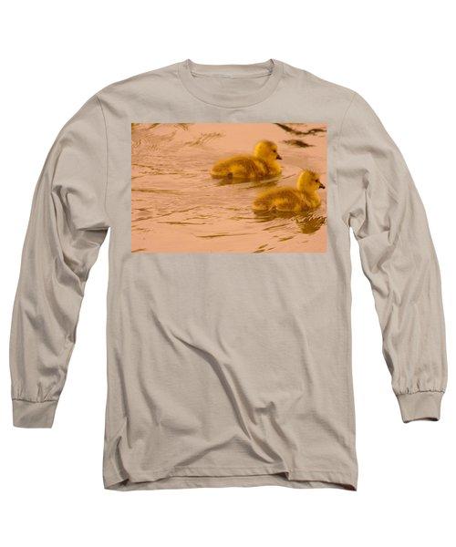Two Little Furry Fuzzies Long Sleeve T-Shirt