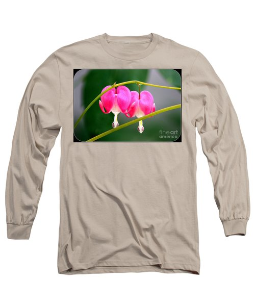 Long Sleeve T-Shirt featuring the photograph Two Of Hearts by Patti Whitten