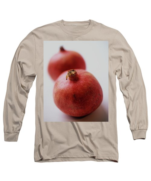 Two Pomegranates Long Sleeve T-Shirt