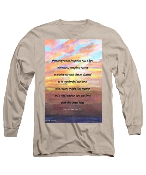 Two Souls Destined To Be Together Long Sleeve T-Shirt