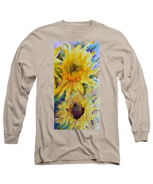 Two Sunflowers Long Sleeve T-Shirt