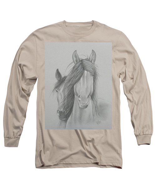 Two Wild Horses Long Sleeve T-Shirt