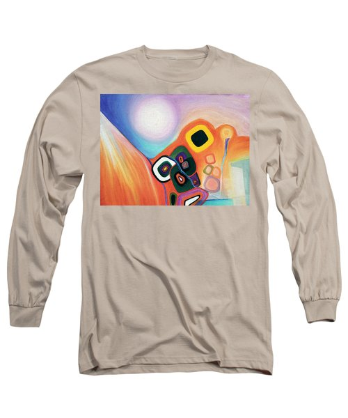 Two Worlds Mandala Long Sleeve T-Shirt