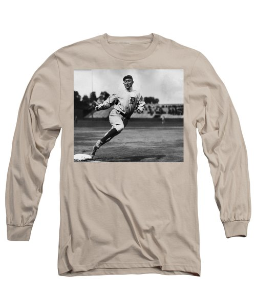 Ty Cobb Long Sleeve T-Shirt