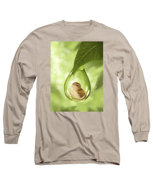 Under Protection Long Sleeve T-Shirt by Veronica Minozzi