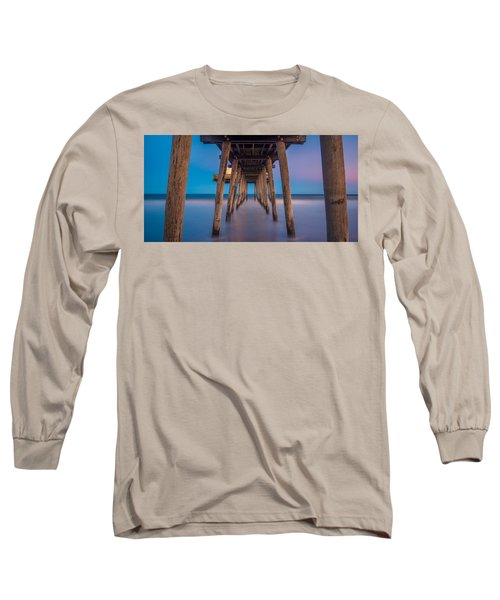 Under The Pier - Wide Version Long Sleeve T-Shirt