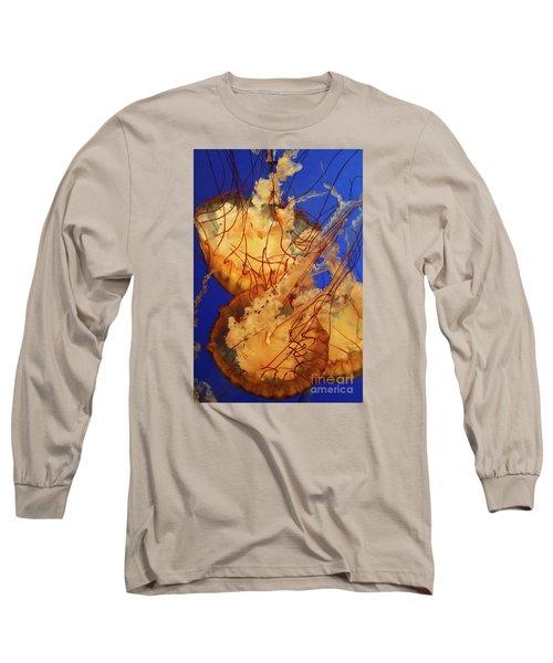 Underwater Friends - Jelly Fish By Diana Sainz Long Sleeve T-Shirt