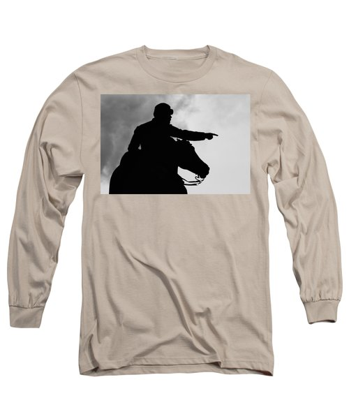 Union Silhouette  Long Sleeve T-Shirt