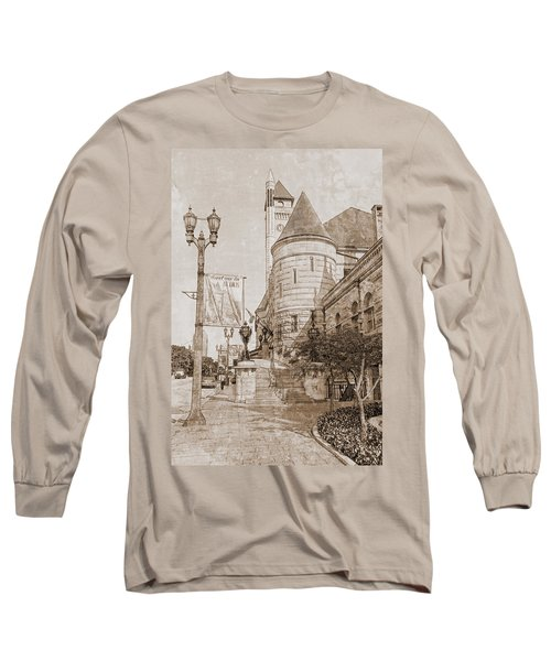Union Station St Louis Mo Long Sleeve T-Shirt by Greg Kluempers