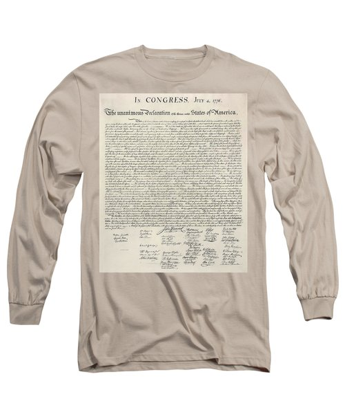 United States Bill Of Rights Long Sleeve T-Shirt