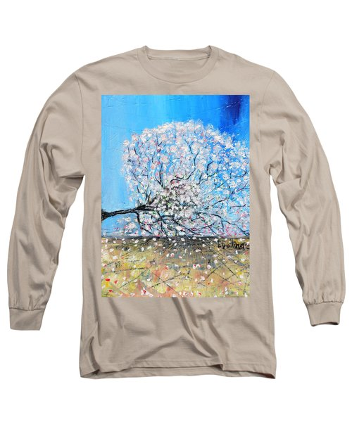 Unstable Position Long Sleeve T-Shirt by Evelina Popilian