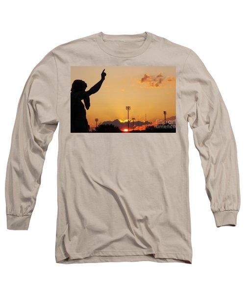 Cemetery Sunset Long Sleeve T-Shirt