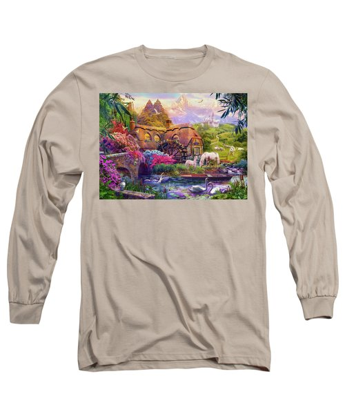 Long Sleeve T-Shirt featuring the photograph Light Palace by Jan Patrik Krasny