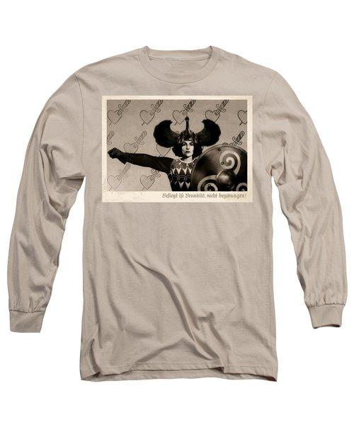 Unyielding Long Sleeve T-Shirt by Udo Linke